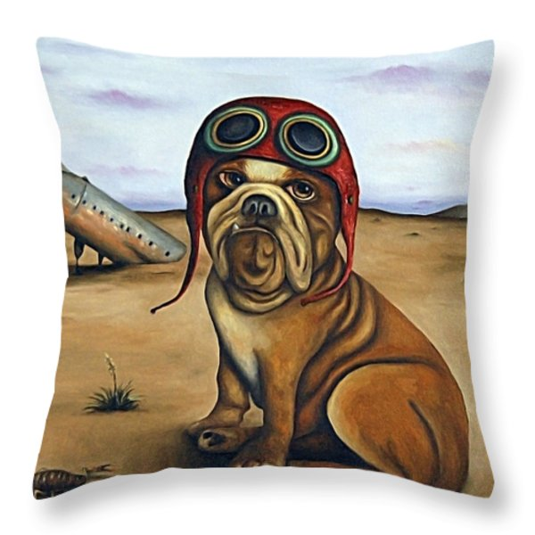 Crash Throw Pillow by Leah Saulnier The Painting Maniac