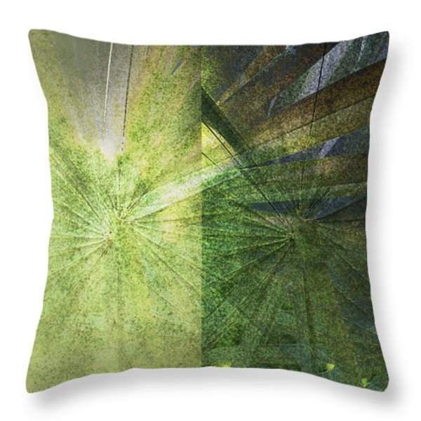 Duple Throw Pillow by Kaypee Soh - Printscapes