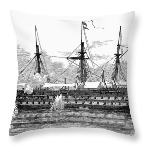 East Africa: Slave Trade Throw Pillow by Granger
