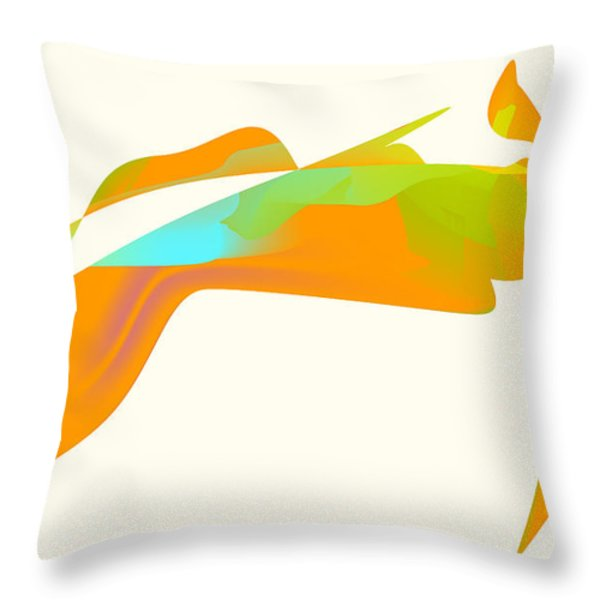 Falcon Pond Throw Pillow by Kevin McLaughlin