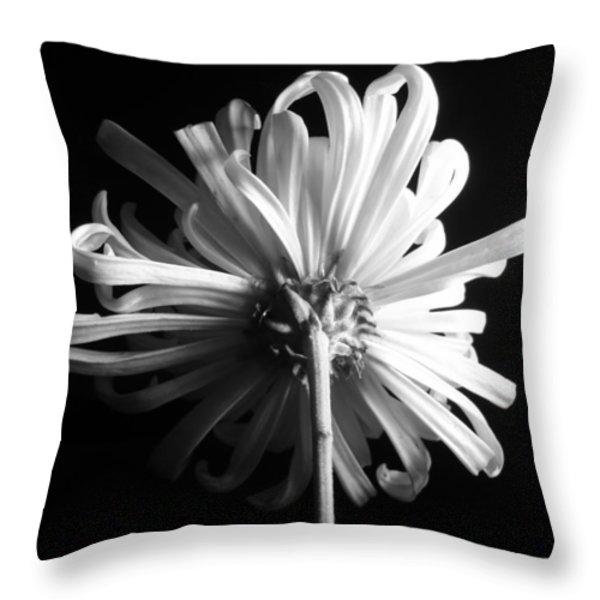 flower Throw Pillow by Sumit Mehndiratta