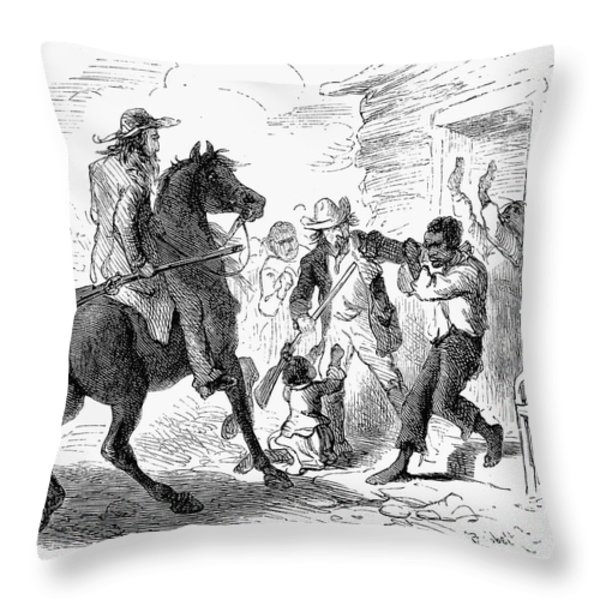 Fugitive Slave Act, 1850 Throw Pillow by Granger
