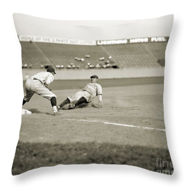 George H. Ruth (1895-1945) Throw Pillow by Granger