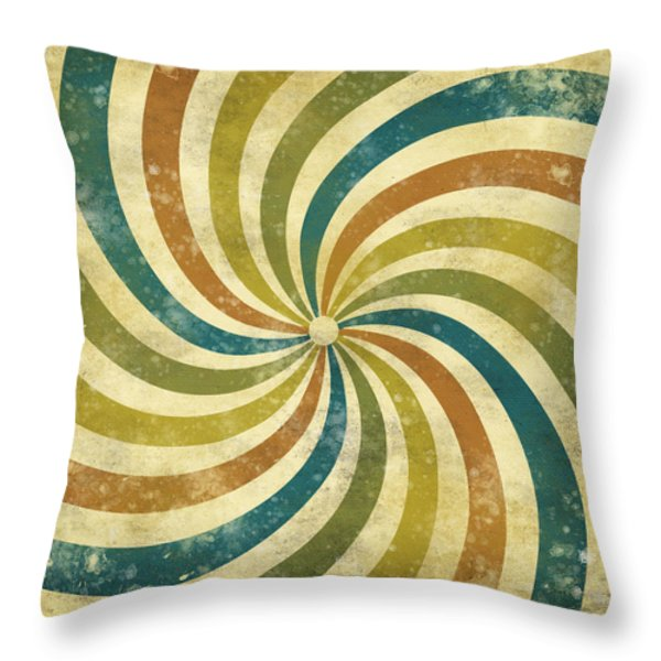 grunge Rays background Throw Pillow by Setsiri Silapasuwanchai