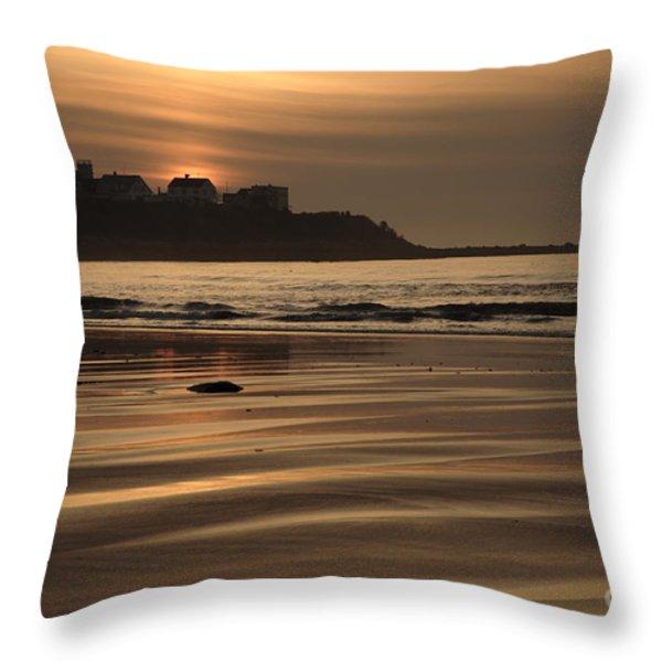 Hampton Beach New Hampshire USA  Throw Pillow by Erin Paul Donovan