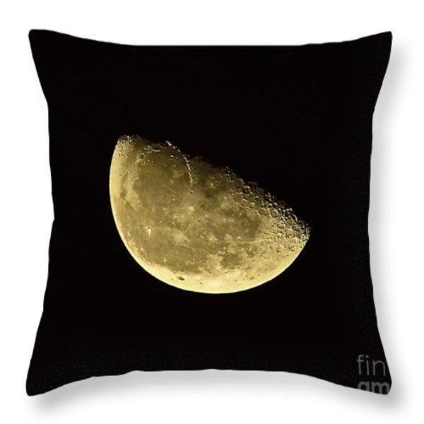Handsome Half Moon Throw Pillow by Al Powell Photography USA