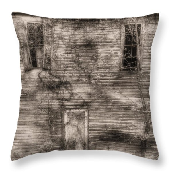 Haunting  Throw Pillow by JC Findley