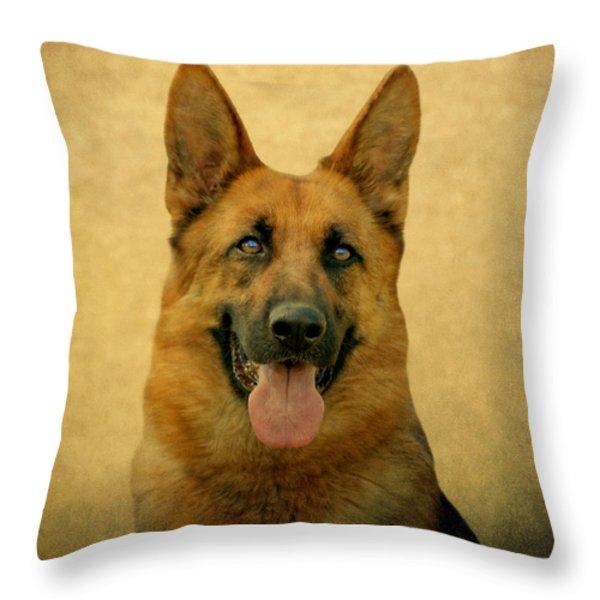 Kiera Throw Pillow by Sandy Keeton