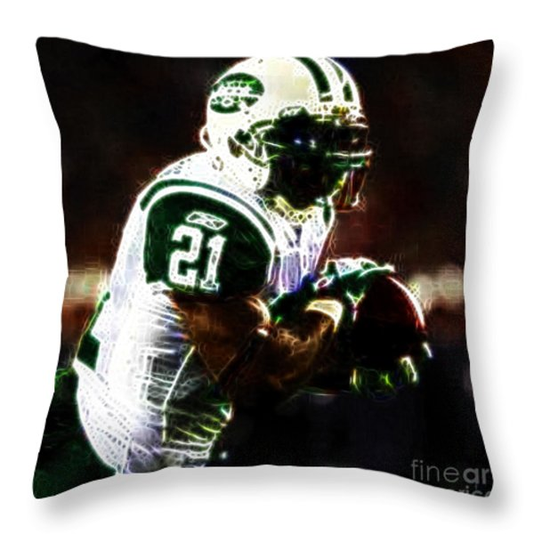 LaDainian Tomlinson Throw Pillow by Paul Ward
