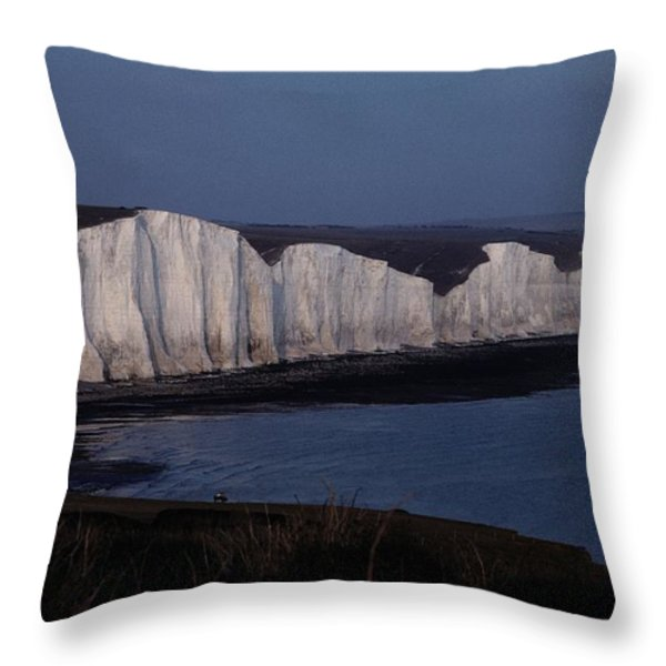 Lewis Carroll Liked To Walk Along These Throw Pillow by Sam Abell