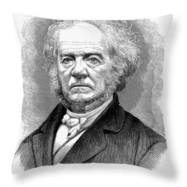 Lewis Tappan (1788-1873) Throw Pillow by Granger
