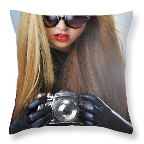 Liuda10 Throw Pillow by Yhun Suarez