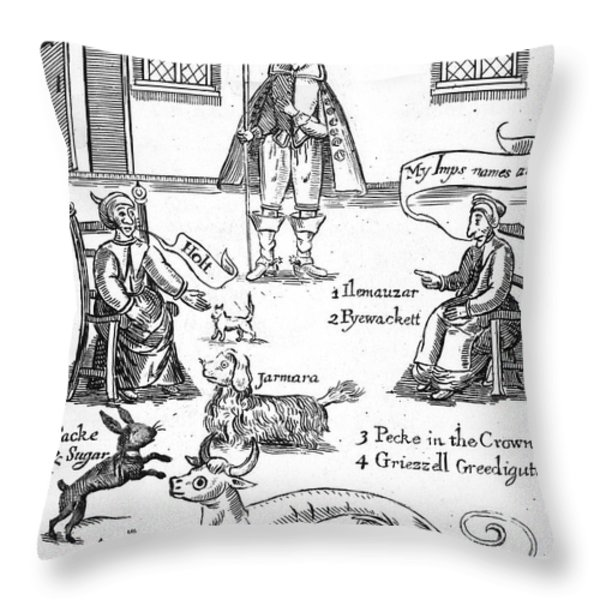 Matthew Hopkins (d. 1647) Throw Pillow by Granger