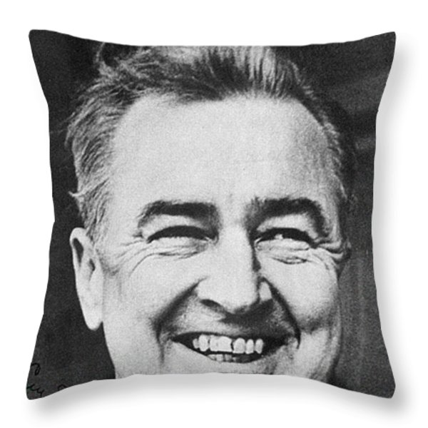Mccarthy Campaign, 1968 Throw Pillow by Granger