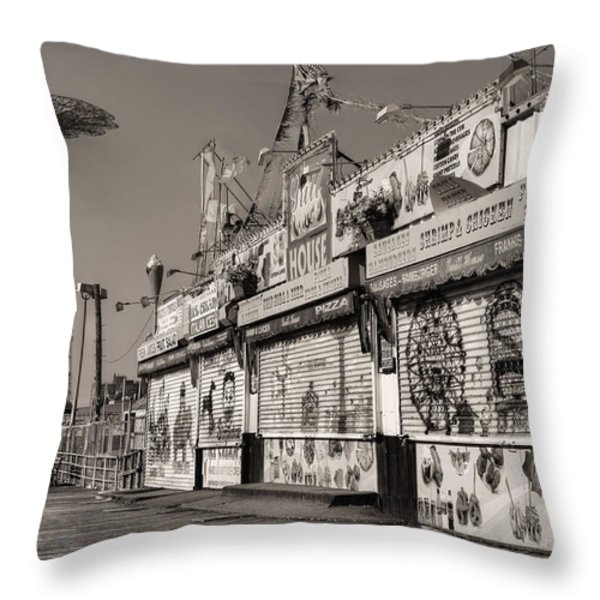 Off Season Throw Pillow by JC Findley