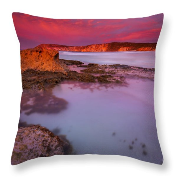 Pennington Dawn Throw Pillow by Mike  Dawson