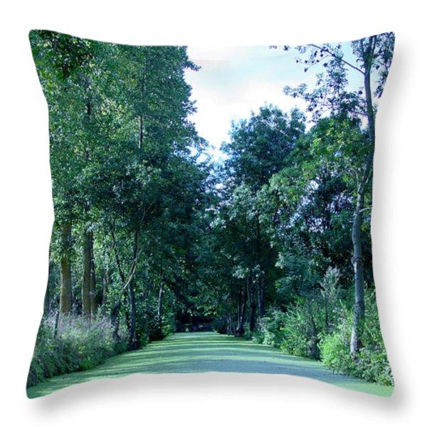 Poitevin Marsh Throw Pillow by Poitevin Marsh