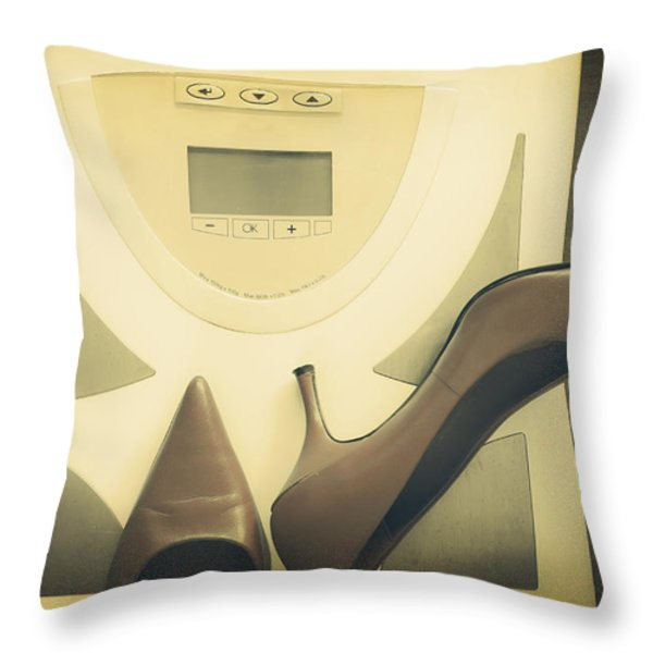 scale Throw Pillow by Joana Kruse
