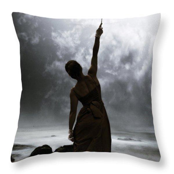 Silhouette Throw Pillow by Joana Kruse