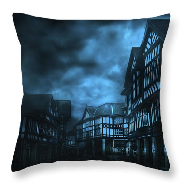 Stormy Weather Throw Pillow by Svetlana Sewell