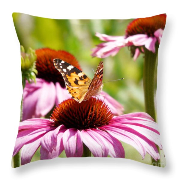 Summertime  Throw Pillow by Angela Doelling AD DESIGN Photo and PhotoArt