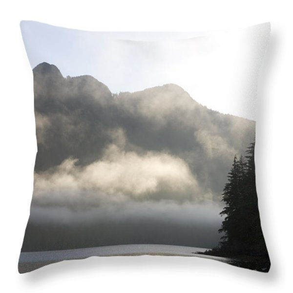 Sunrise In Haida Gwaii Throw Pillow by Taylor S. Kennedy