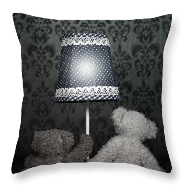 teddy bears Throw Pillow by Joana Kruse