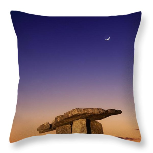 The Burren, County Clare, Ireland Throw Pillow by Richard Cummins