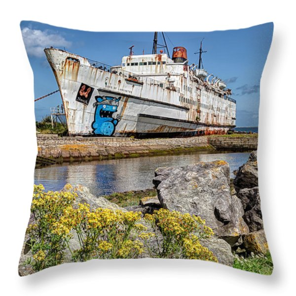 The Duke Throw Pillow by Adrian Evans