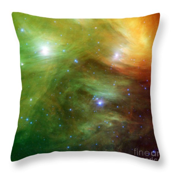 The Seven Sisters, Also Known Throw Pillow by Stocktrek Images