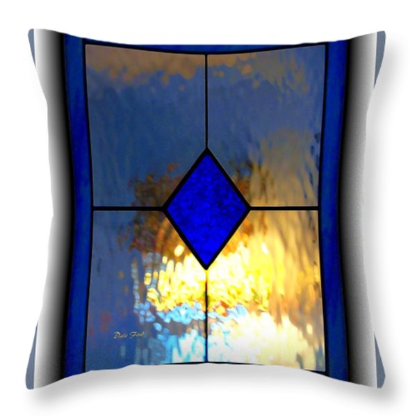 The Window Throw Pillow by Dale   Ford
