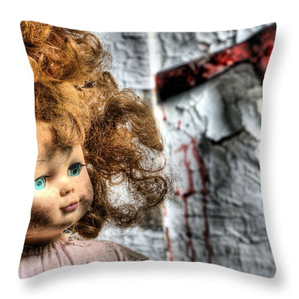 Till Death do us Part Throw Pillow by JC Findley