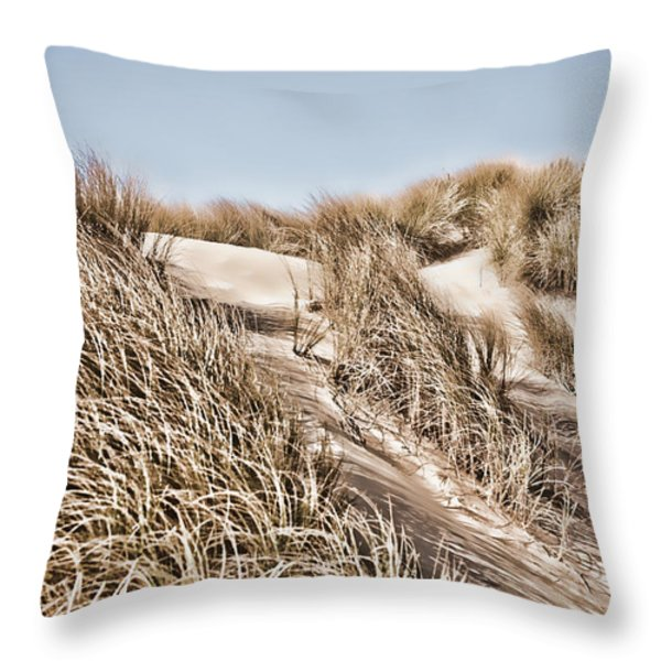 Tranquility Throw Pillow by Bonnie Bruno