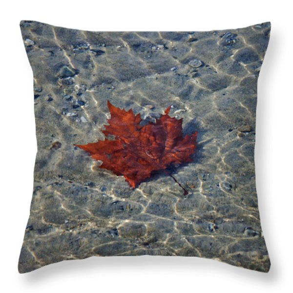 under water Throw Pillow by Joana Kruse