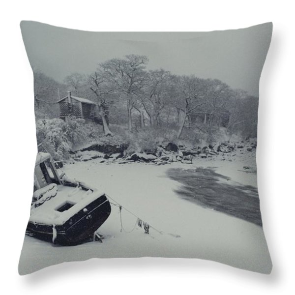 Untitled Throw Pillow by David Alan Harvey