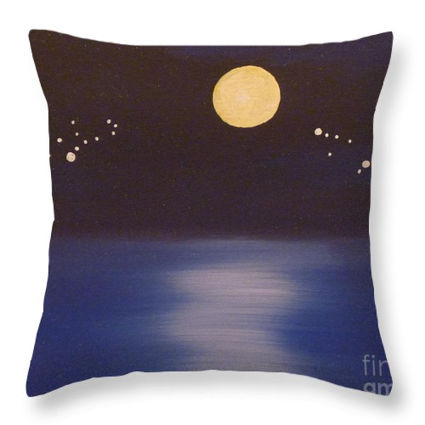 Virgo And Capricorn Throw Pillow by Alys Caviness-Gober