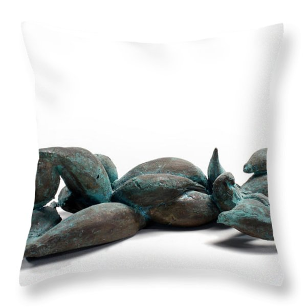With Seed Throw Pillow by Adam Long