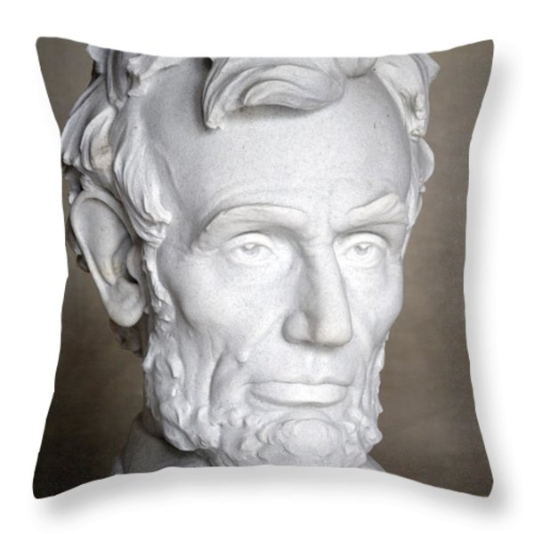 Abraham Lincoln (1809-1865) Throw Pillow by Granger