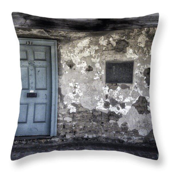 131 Throw Pillow by Joan Carroll
