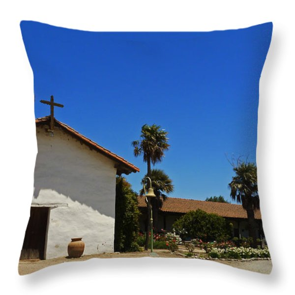13th Mission Throw Pillow by Methune Hively