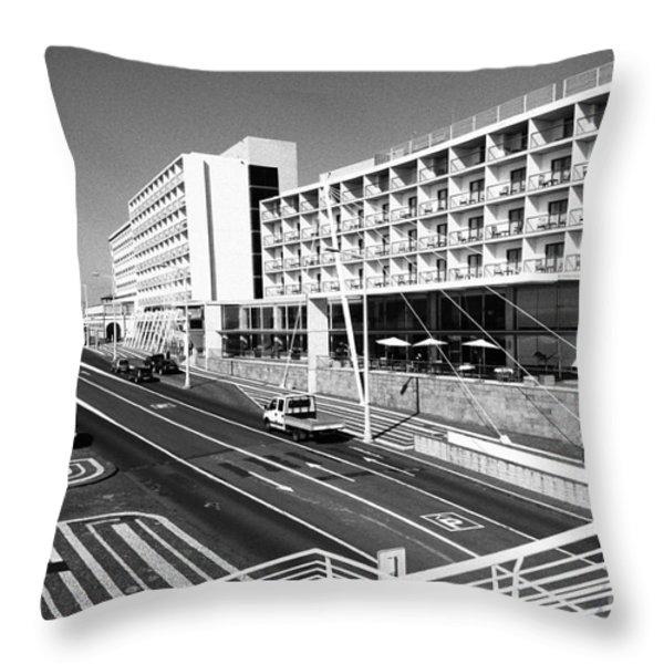 Ponta Delgada - Azores Throw Pillow by Gaspar Avila