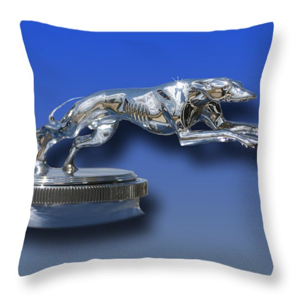 1931 Lincoln K Mascot Throw Pillow by Jack Pumphrey