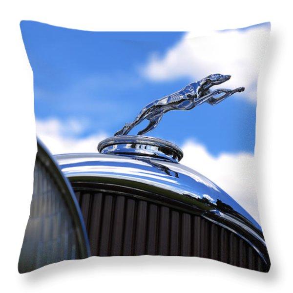 1932 Lincoln Kb Brunn Phaeton Throw Pillow by Gordon Dean II
