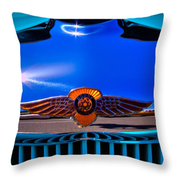 1933 Dodge Coupe Throw Pillow by David Patterson