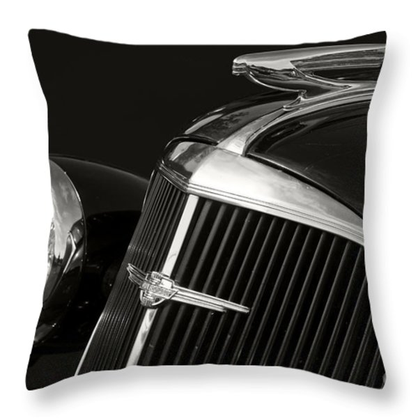 1937 Chevy Throw Pillow by Dennis Hedberg