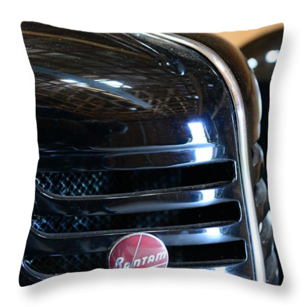 1940 Bantam Auto Throw Pillow by Paul Ward