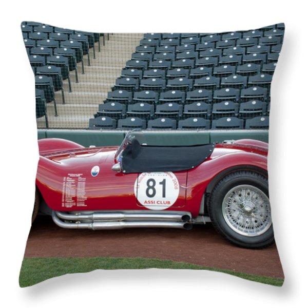 1954 Maserati A6 GCS  Throw Pillow by Jill Reger