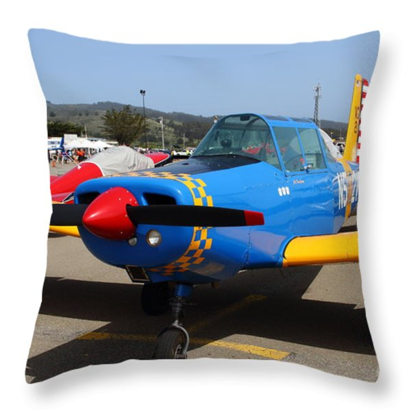 1958 Morrisey 2150 CN FP2 Aircraft 7d15834 Throw Pillow by Wingsdomain Art and Photography