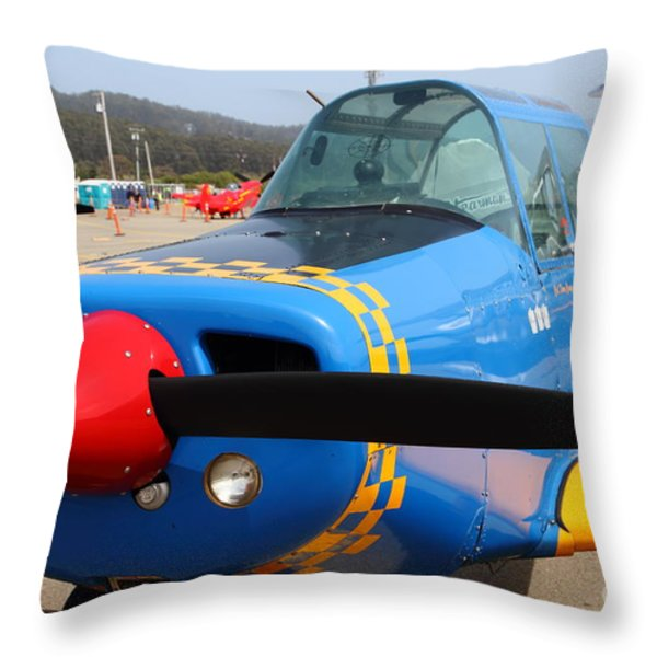 1958 Morrisey 2150 CN FP2 Aircraft 7d15835 Throw Pillow by Wingsdomain Art and Photography