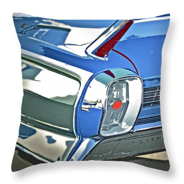 1962 Cadillac El Dorado Throw Pillow by Gwyn Newcombe